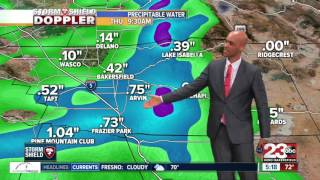 Storms roll through Kern County