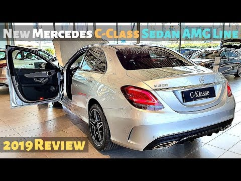 New Mercedes C-Class Sedan AMG Line 2019 Review Interior Exterior