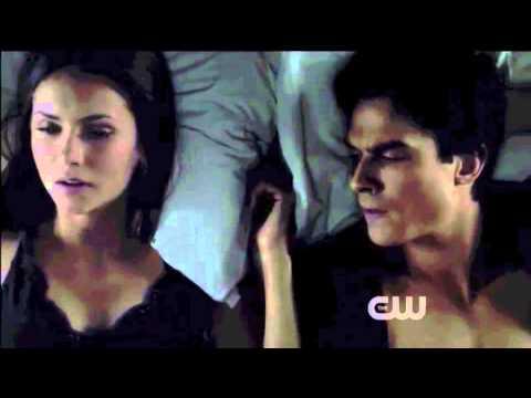 Damon and Elena Motel Scene from the Vampire Diaries - Season 3 Episode 19