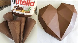 My Favorite Chocolate Heart Cake Recipes   Top Yummy Chocolate Cake Decorating Compilation