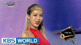 Wonder Girls (원더걸스) - Rewind / I Feel You [Music Bank COMEBACK / 2015.08.22]