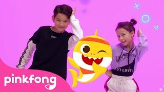 Hip Hop Shark   Baby Shark Remix   Kids Choreography   Performance Video   Pinkfong Kids Pop Dance
