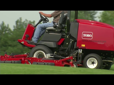 Toro® Groundsmaster® 4000-D – Easy Operation