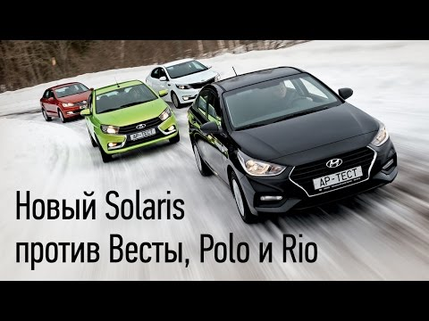 Volkswagen Polo Sedan Седан класса B - тест-драйв 3