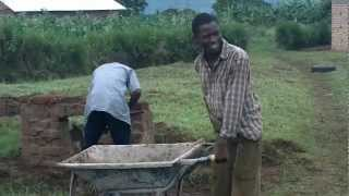 preview picture of video 'Kamwenge Secondary & Vocational Institute Masonry Students May 2011.MOV'