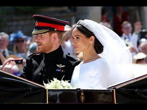 Главные моменты свадьбы принца Гарри и Меган Маркл