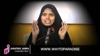 பாத்திமா (எ) விஜயலட்சுமி பிராமின்ᴴᴰ Part-2┇ என்னை கவர்ந்த இஸ்லாம்┇Way To Paradise Class | W2P