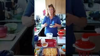 Käsekuchen in der Tupperware Mikrokanne