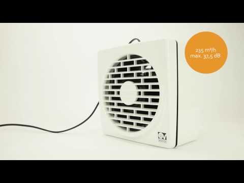 Vortice Vario Wandventilator / Fensterventilator - creoven.tv Produktvideo