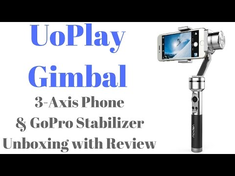 Hindi | 3-Axis Phone Stabilizer UOPLAY Gimbal by Aibird Unboxing & Review | Sharmaji Technical