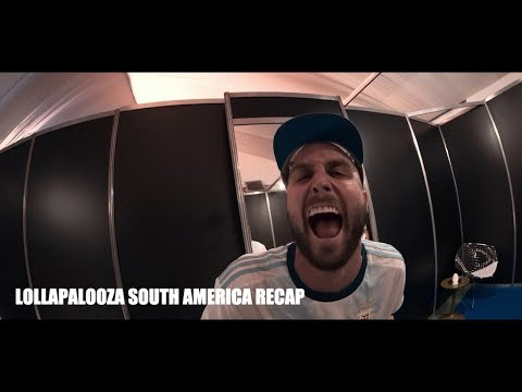 FISHER - LOLLAPALOOZA SOUTH AMERICA RECAP 2019 - FISHER