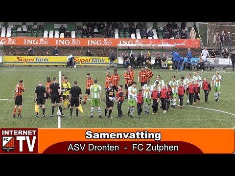 Asv Dronten boekt eenvoudige 2-0 overwinning op hekkensluiter FC Zutphen