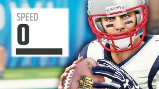 0 SPEED TEAM vs 0 SPEED TEAM | Madden 18 Gameplay Experiment (Ft. PerramCrowe)