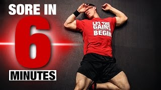 Fast, Brutal Leg Workout (SORE IN 6 MINUTES!!) by ATHLEAN-X™
