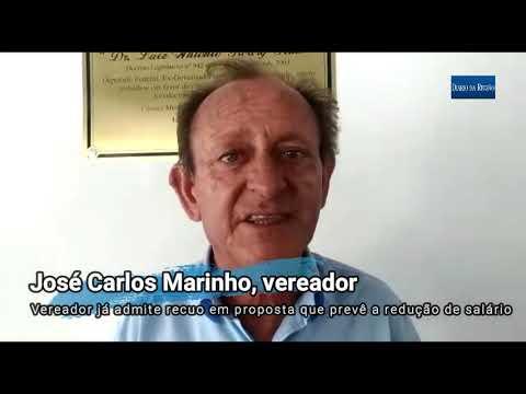 Marinho, cujo projeto reduz salário de vereadores em Rio Preto de R$ 6 mil para R$ 1,5 mil