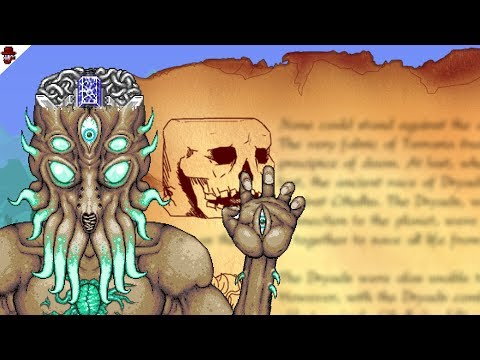 The Lore of Terraria (Day 1 to 1.3.6)