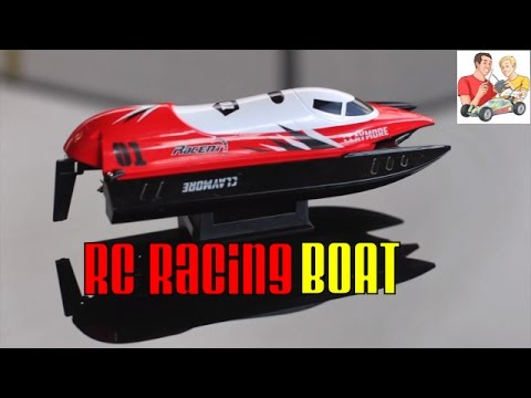 Volantex CLAYMORE 2.4G Brushed RC Racing Boat - Review