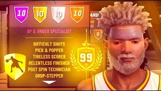 BEST BUILD ON NBA 2K19! THIS BUILD HAS EVERY BADGE ON 2K19! THIS BUILD IS THE BEST TO HIT 99 OVERALL