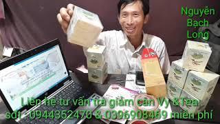 Trà Giảm Cân Thảo Mộc Vy & Tea Uy Tín 100%  Kiểm Tra Ngày Sử Dụng Giao Hàng  Tiền Giang Ký Sự