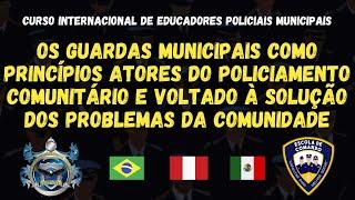 POLICIAMENTO COMUNITÁRIO E AS GUARDAS MUNICIPAIS