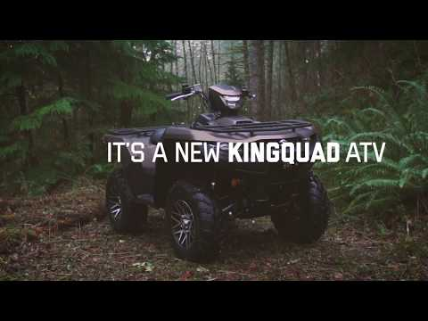 2019 Suzuki KingQuad 400ASi+ in Sanford, North Carolina - Video 2