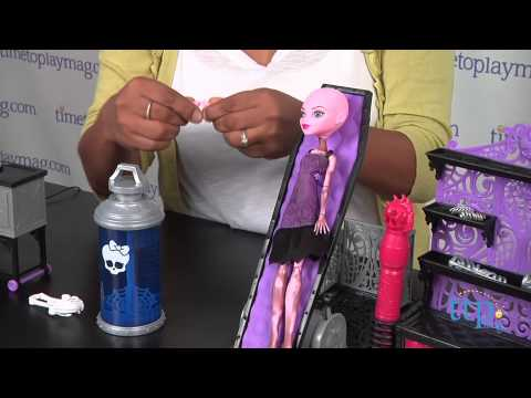 Monster High Create-A-Monster Color-Me-Creepy Design Chamber from Mattel