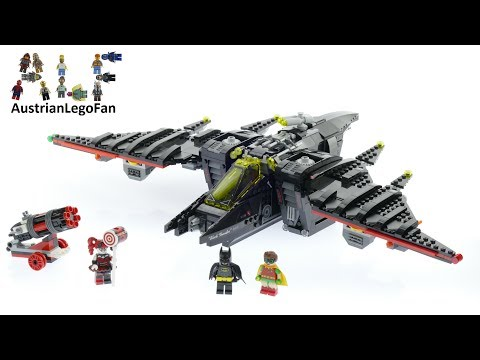 Vidéo LEGO The Batman Movie 70916 : Le Batwing