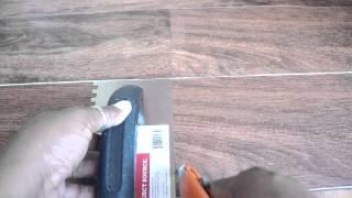 How to Cut Vinyl Tile