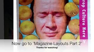 Magazine Layouts Using Adobe Indesign, Part 1