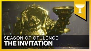 Destiny 2 | Part 58: The Invitation | Season of Opulence