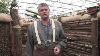preview picture of video 'Gardeners' World Live 2014: WWI Trench by City of Birmingham'