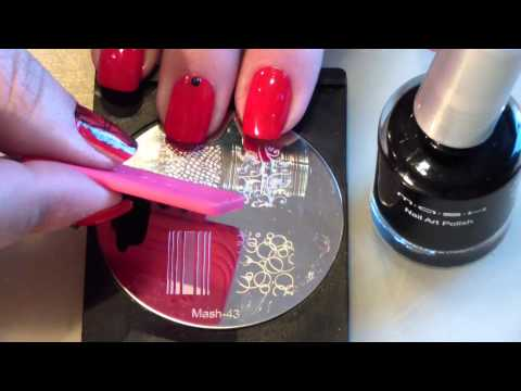 Supertruco para estampar en uñas/ Stamping nails cute trick