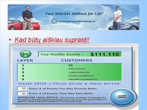 Uždirbti namuose ne internetu