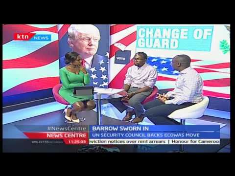 Trump inauguration interview with Sharon Mommanyi part 3