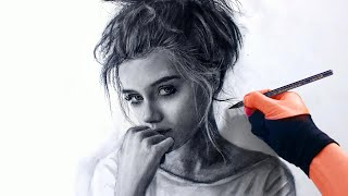 THIS VIDEO WILL MAKE YOU LOVE CHARCOAL Drawing