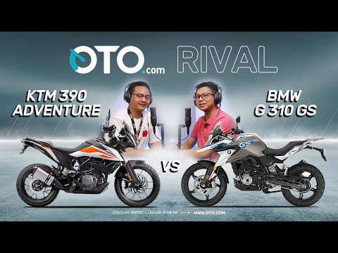 OTO Rival | KTM 390 Adventure vs BMW G 310 GS, Patut Diadu?