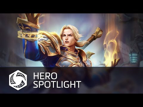Heroes of the Storm Anduin Wrynn Spotlight as He Arrives In Game