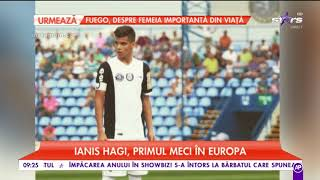 Ianis Hagi, Primul Meci în Europa
