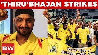 """Neenga Vera level MASS-ya"" Harbhajan Thanks Thamizhans!"