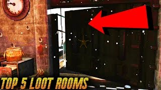 Fallout 4 Secrets - TOP 5 Best Secret Loot Rooms/Locations ! (Best Loot Areas in Fallout 4 Part 1)