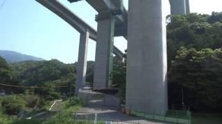 新名神高速土山ジャンクション建設現場2016年5月