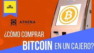 Wie benutze ich Athena Bitcoin ATM?