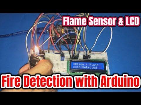 Arduino Flame Sensor Step By Step Hindi |KY-026| - смотреть