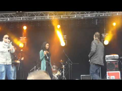 Faya Fyah - No Escape (Fast Lane Riddim) (with live footage)