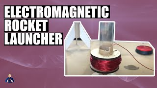 TEASER - Electromagnetic Rocket Launcher