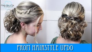 PROM UPDO HAIRSTYLE!