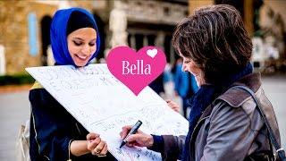 ITALIANS REACT TO A MUSLIM GIRL! #IslamophobiaExperiment