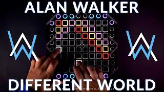 Alan Walker - Different World // Launchpad Performance