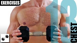 13 Chest Exercises With Just One Dumbbell