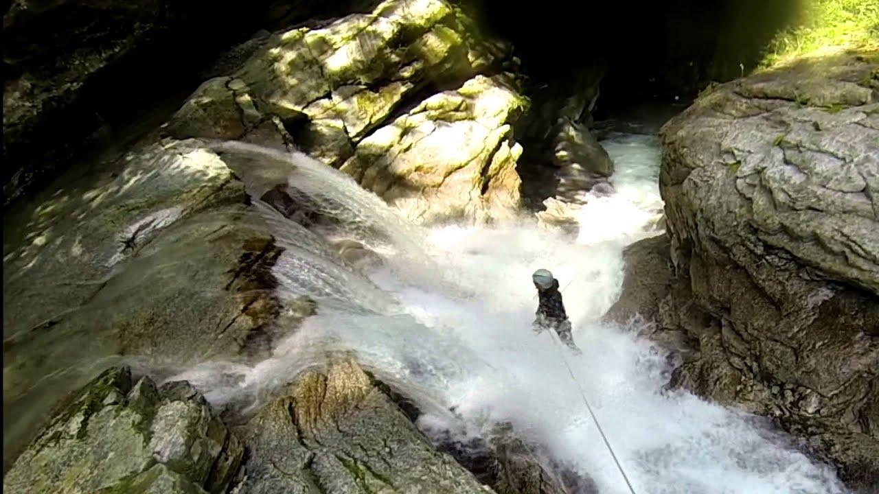 Kanioning w Ticino